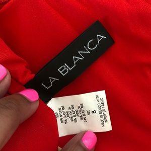 La Blanca Swim - NEW Hot red bathing suit